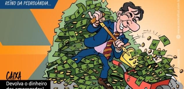 Caixa confisca valores de PLR da empregados com dívidas no banco